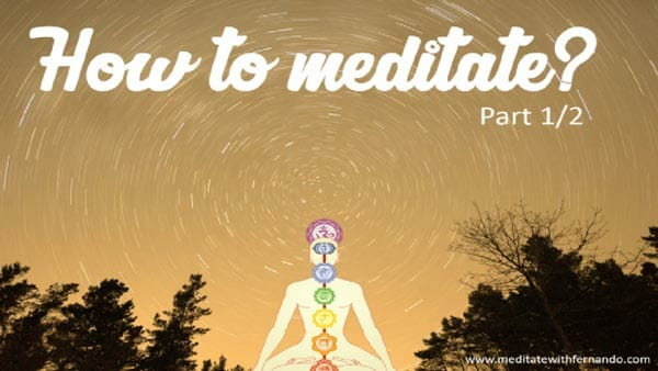 How to meditate.