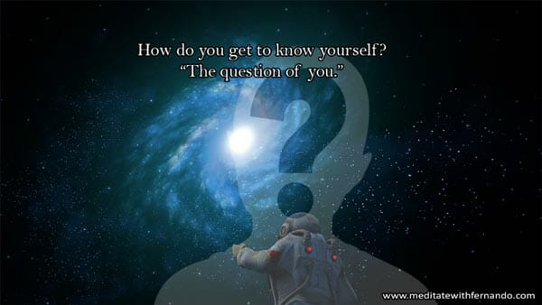 Get to know yourself now.