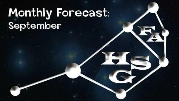 September Forecast.
