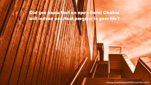 Navel chakra brings success.