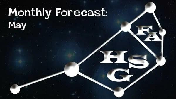May Forecast 2018.