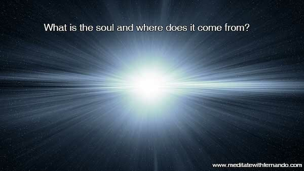 Where does the soul come from?