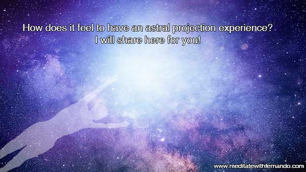 An astral experience.