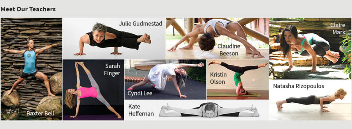 Yoga University Online Teachers