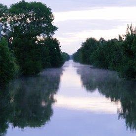 Canal sur la Venise Verte