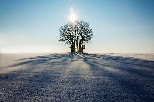 Meditation de pleine conscience hiver