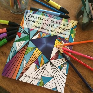 relaxing geometric Designs and Patterns: Coloring Book for Adults