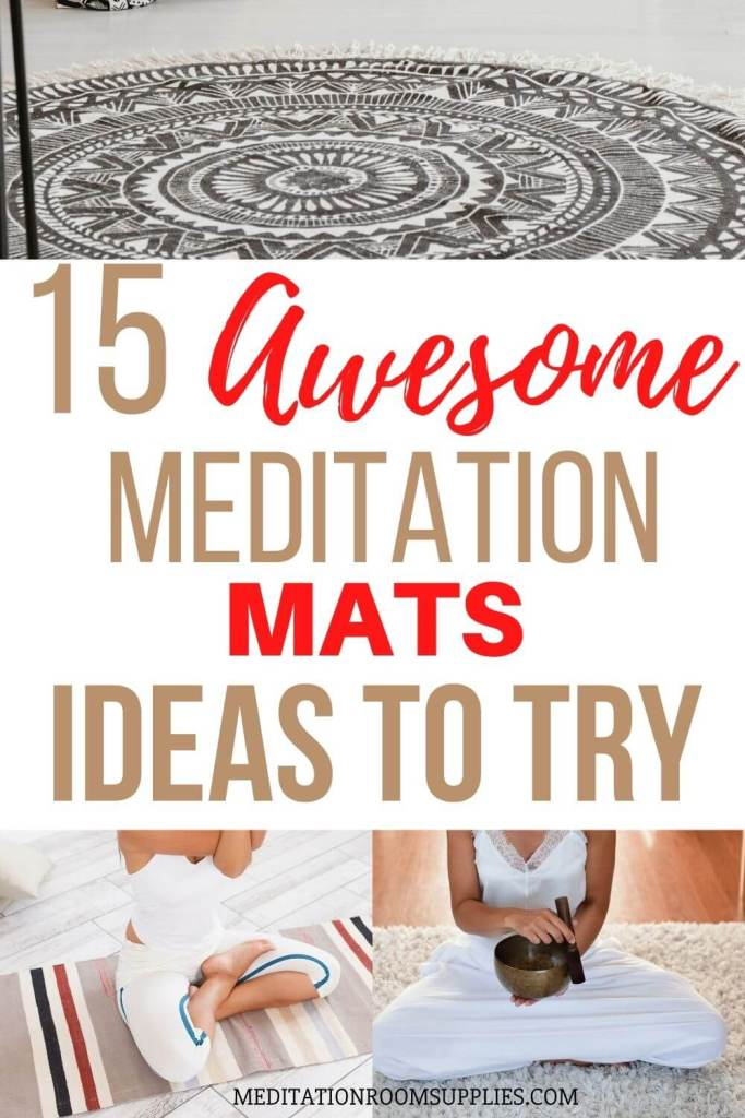 15 awesome meditation mats ideas to try