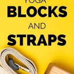 amazing yoga blocks and straps