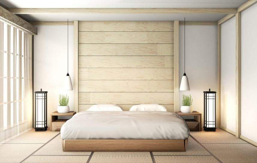 serene zen bedroom