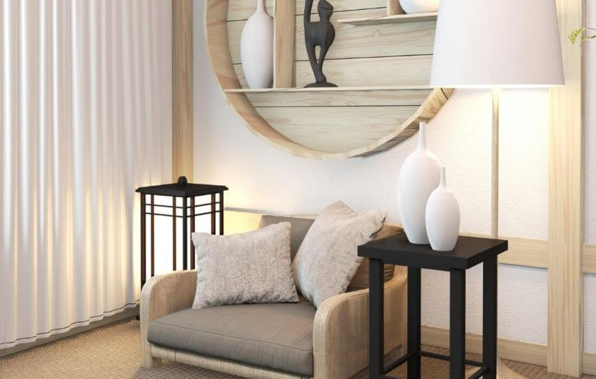 zen decor corner idea
