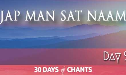 Day 9   Jap Man Satnam
