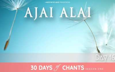 Day 16 | AJAI ALAI – Power Mantra