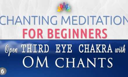 New Chanting Meditation Designed for Beginners to Open 3rd Eye Chakra with Easy Simple Steps.