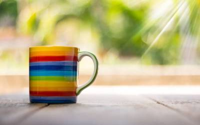 Do Not concentrate on the Cup; Enjoy the Coffee !!