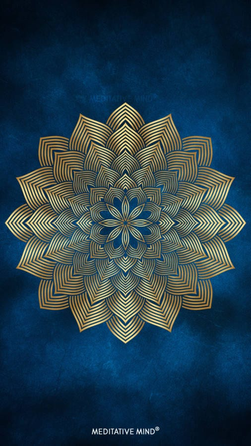 Golden Mandala Wallpaper1 by MeditativeMind