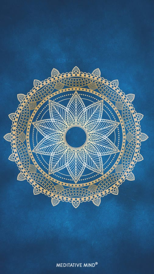 Golden Mandala Wallpaper2 by MeditativeMind