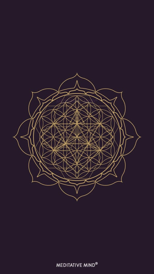 Golden Mandala Wallpaper4 by MeditativeMind