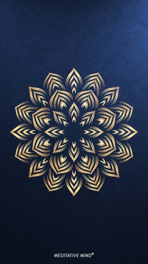 Golden Mandala Wallpaper6 by MeditativeMind
