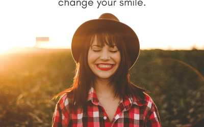 Use your smile to change the world, don't let the world change your smile.