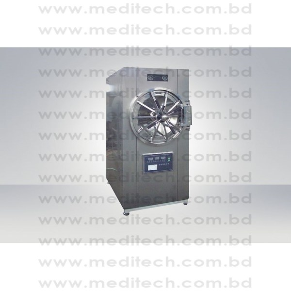 Horizontal Cylindrical Pressure Stream Sterilizer