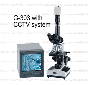 BIOLOGICAL MICROSCOPE G-303