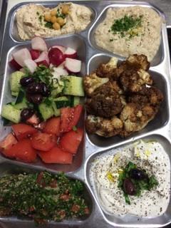 Bellevue Dinner Menu - Mediterranean Kitchen, Inc.