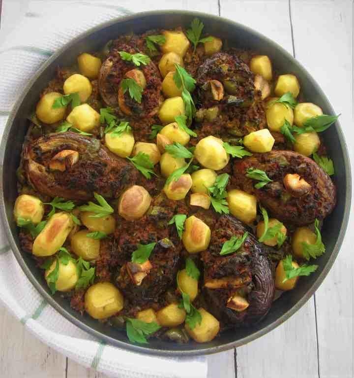 Stuffed Eggplants (Aubergines) - Imam Bayildi
