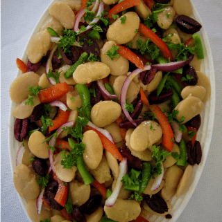 Butter Beans Or Lima Beans Summer Salad