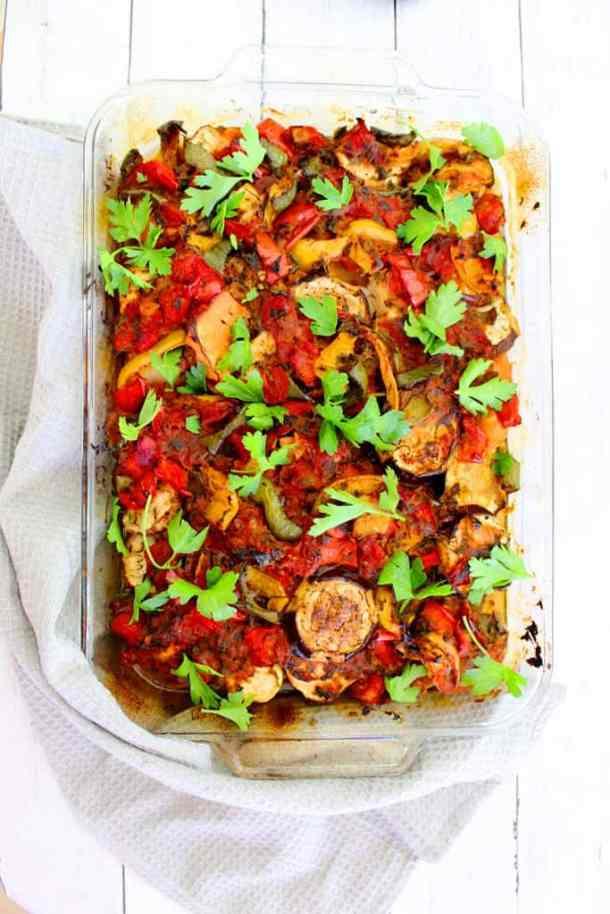 Vegan Vegetable Medley – A Mediterranean Casserole