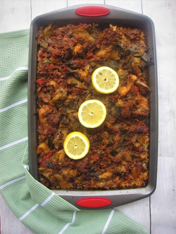 Mediterranean Leek Casserole
