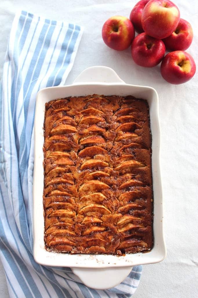 Best Fall's Apple, Walnuts, Honey Cake