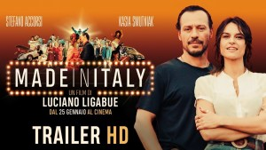"affiche du film ""made in Italy"""