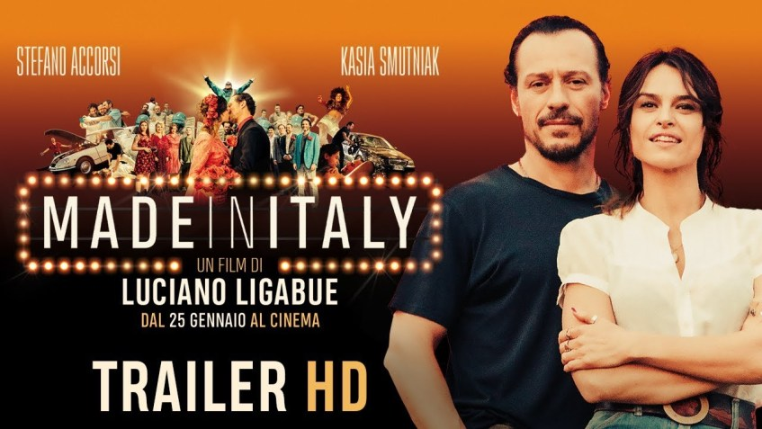 """affiche du film """"made in Italy"""""""