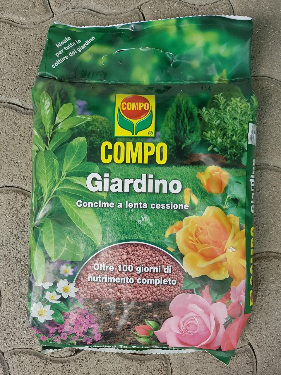 Tutori Per Rose Rampicanti compo. concime a lenta cessione per giardino .sacco da 4 kg. - garden  center mediterraneo