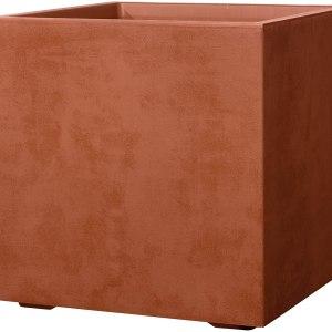 Vaso DEROMA Cubo Millennium 49 Corten