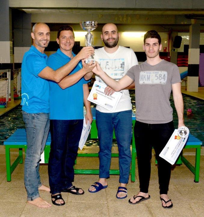Guanyadors masculi Assad Nauer-Carlos Lloret-IvanDavid-RogerTorres