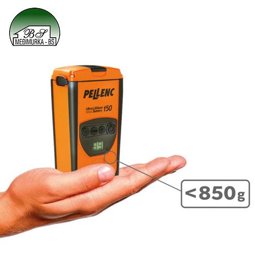 Akumulatorske električne škare za rezidbu Pellenc Vinion 150 beterija