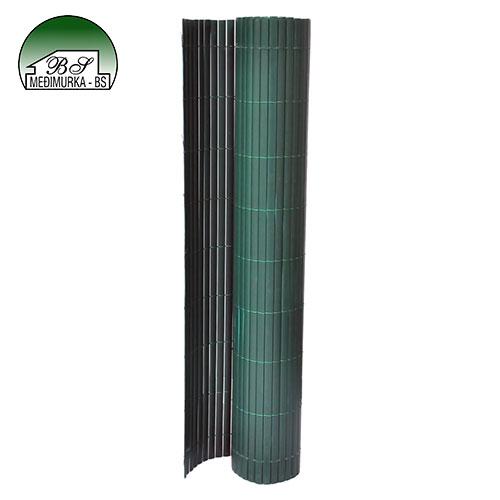 Zelena PVC ograda