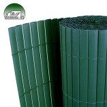 Zelena PVC vrtna ograda
