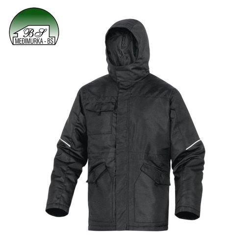 DeltaPlus CARSON jakna - crna s kapuljačom