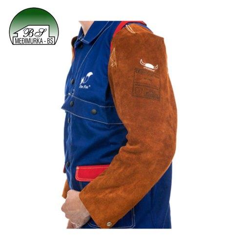 Zaštitni dugi kožni rukavi LavaBrown