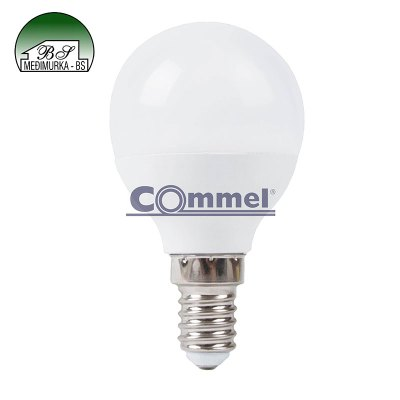 LED žarulja G45 - E14 Commel