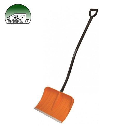 Lopata za snijeg narančasta PVC 55 cm