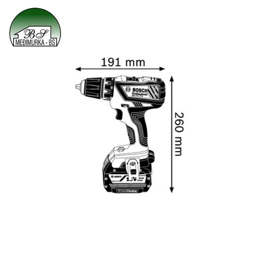 Bosch Aku Bušilica - Odvijač GSR 18-2-LI