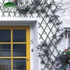 Rešetkasta ograda od plastike za biljke penjačice