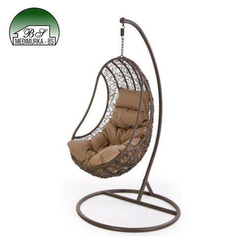 Viseća fotelja - zatvorena