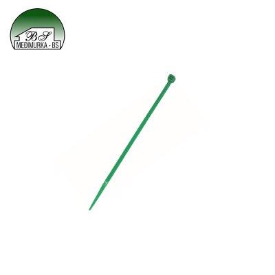 Plastične vezice zelene