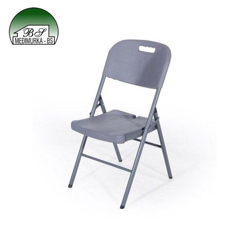 Sklopiva stolica sa naslonom