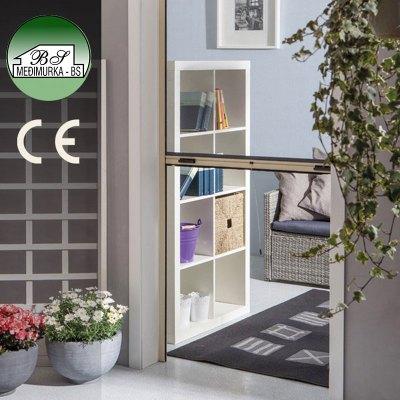Mreža protiv komaraca za vrata - vertikalna